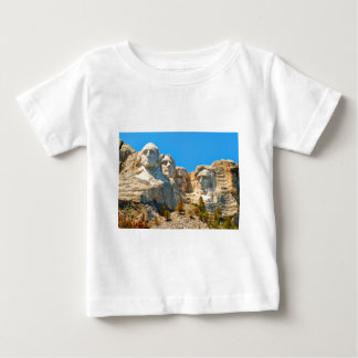 Mount Rushmore Classic View Baby T-Shirt