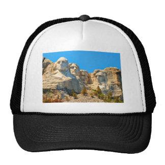 Mount Rushmore Classic View Trucker Hats