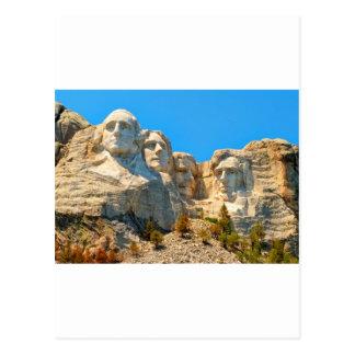 Mount Rushmore Classic View Postcard