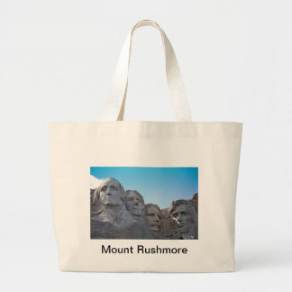Mount Rushmore  collection Large Tote Bag