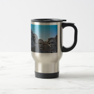 Mount Rushmore  collection 15 Oz Stainless Steel Travel Mug