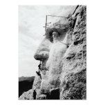 Mount Rushmore construction Custom Announcements