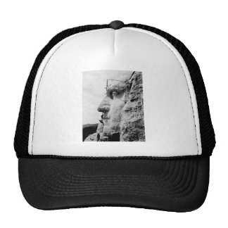 Mount Rushmore construction Trucker Hats