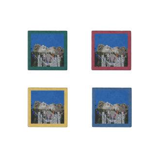 Mount Rushmore Customizable Photo Souvenir Stone Magnet