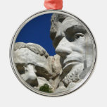 Mount Rushmore Detail Christmas Ornament