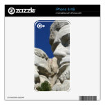 Mount Rushmore Detail Decal For The iPhone 4S