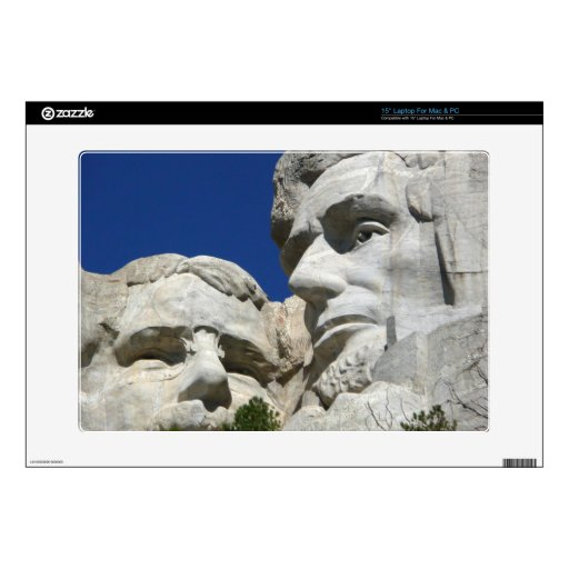 "Mount Rushmore Detail Decals For 15"" Laptops"