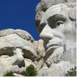 Mount Rushmore Detail Photo Cut Outs
