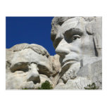 Mount Rushmore Detail Postcard