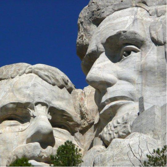 Mount Rushmore Detail Statuette