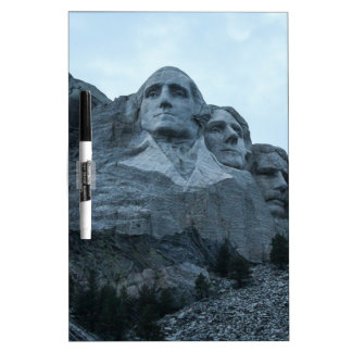 Mount Rushmore Dry Erase Board