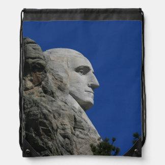 Mount Rushmore (George Washington) photo Cinch Bag