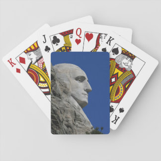 Mount Rushmore (George Washington) photo Playing Cards