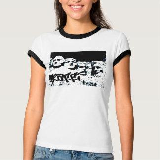 mount rushmore graffiti T-Shirt
