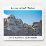 mount rushmore, Great MindsThink Mousepads