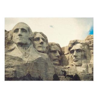 Mount Rushmore Custom Invites
