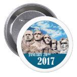 Mount Rushmore, January 20, 2017 Button
