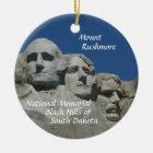 Mount Rushmore  Memorial CHRISTMAS ORNAMENT SD