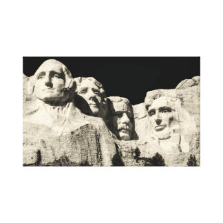 Mount Rushmore Monument in South Dakota Canvas Print