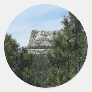 Mount Rushmore National Memorial Classic Round Sticker