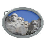 Mount Rushmore National Memorial Monument Oval Belt Buckle