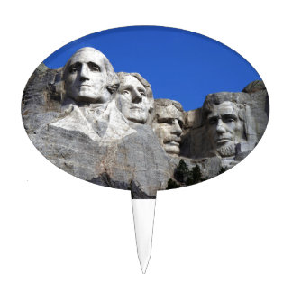 Mount Rushmore National Memorial Monument Cake Toppers