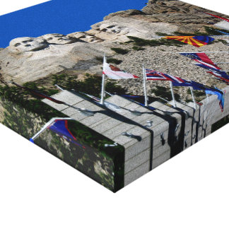 Mount Rushmore National Memorial South Dakota Canvas Print
