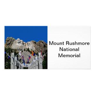 Mount Rushmore National Memorial South Dakota Photo Card