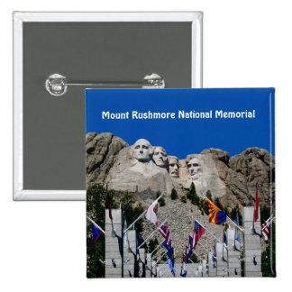 Mount Rushmore National Memorial South Dakota Pinback Button
