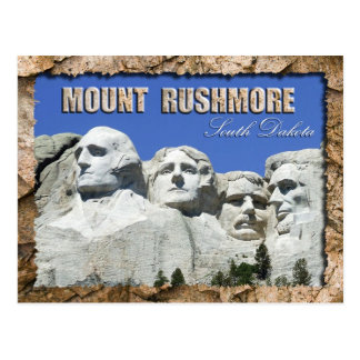 Mount Rushmore National Memorial, South Dakota Postcard