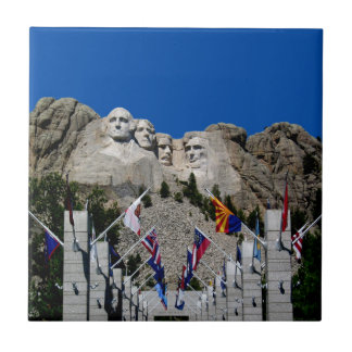 Mount Rushmore National Memorial South Dakota Tile