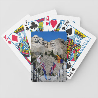 Mount Rushmore National Memorial Souvenir Bicycle Playing Cards