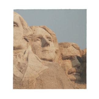 Mount Rushmore Notepad