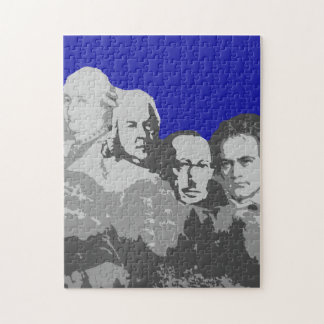 Mount Rushmore of Composers 11X14 Puzzle