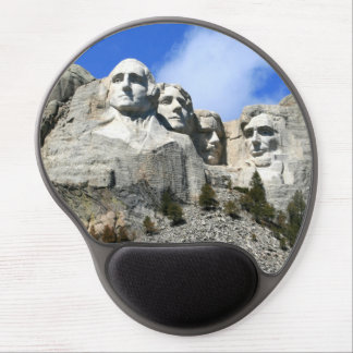 Mount Rushmore on a clear day photo Gel Mouse Pad