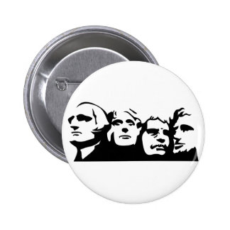 Mount Rushmore Outline Button