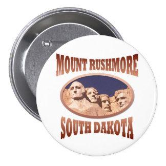 Mount Rushmore Pinback Button