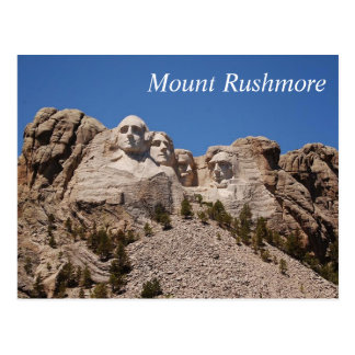 Mount Rushmore - postcard