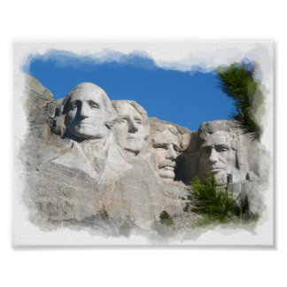 Mount Rushmore Print