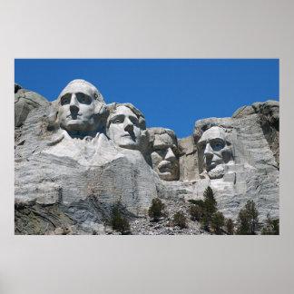 Mount Rushmore Poster w/No Label