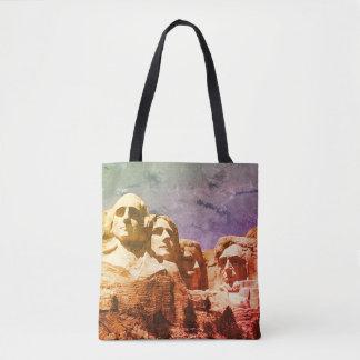 Mount Rushmore Presidential Monument 1974 Tote Bag