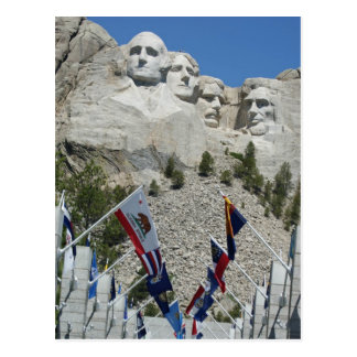 MOUNT RUSHMORE PRESIDENTS MEMORIAL SOUTH DAKOTA POSTCARDS