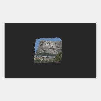 Mount Rushmore Rectangular Sticker