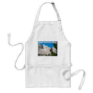 Mount Rushmore Rocks! Mount Rushmore, South Dakota Adult Apron