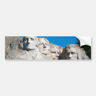 Mount Rushmore Rocks! Mount Rushmore, South Dakota Bumper Sticker