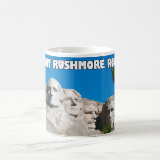Mount Rushmore Rocks! Mount Rushmore, South Dakota Coffee Mug
