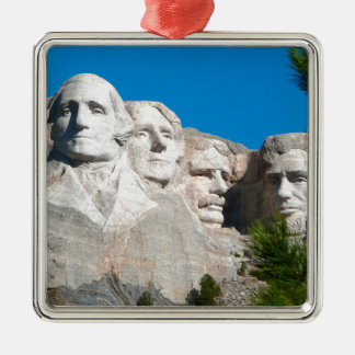 Mount Rushmore Rocks! Mount Rushmore, South Dakota Metal Ornament
