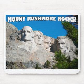 Mount Rushmore Rocks! Mount Rushmore, South Dakota Mousepads