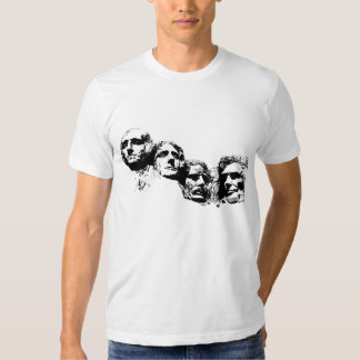 Mount Rushmore Silhouette Shirts