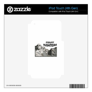 Mount Rushmore Skins For iPod Touch 4G
